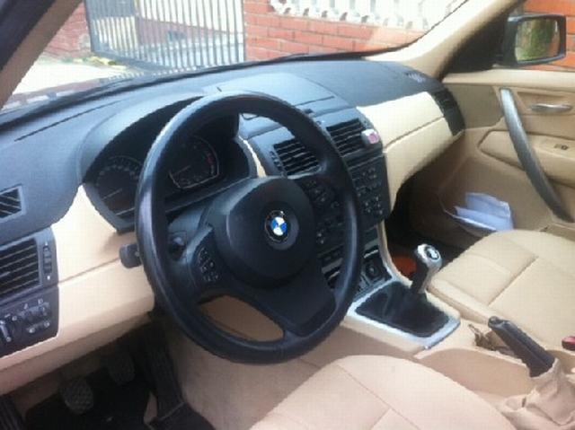 interior bmw x3