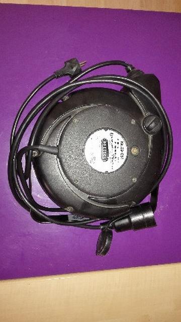 alargador de corriente enrollable