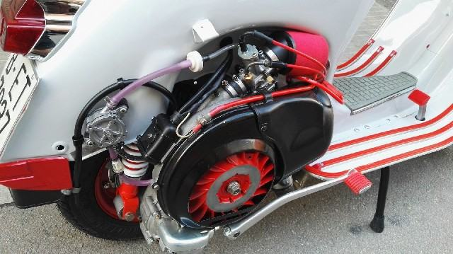 Moto vespa 200 ds