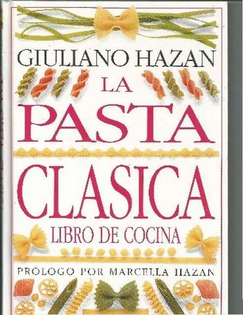 La pasta clásica libro de cocina