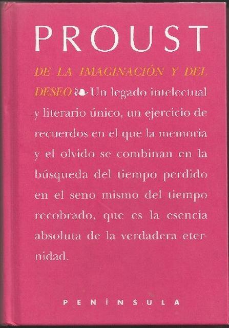 De la imaginacion y del deseo