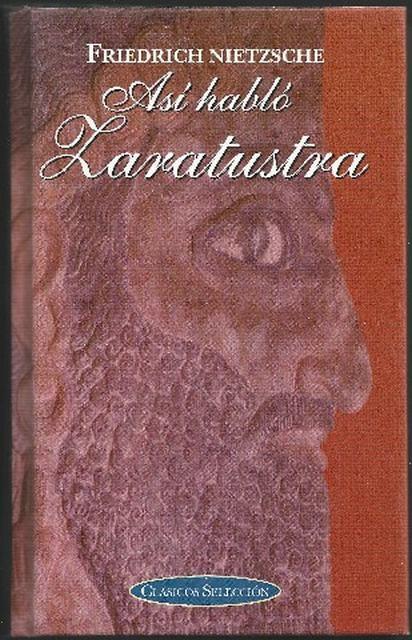 libro Zaratustra