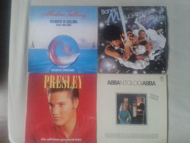 4 discos de vinilo