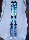 Esquís salomon freeride pocket rocket