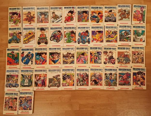 Colección de 42 comics de Dragon Ball